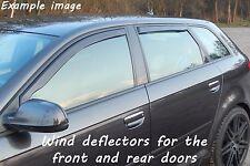 Wind deflectors for Fiat Punto Evo Typ 199 2009-2011 Hatchback 5doors front&rear