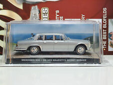 James Bond Car Collection 32 Mercedes 600 On Her Majestys Secret Service & Mag