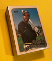 50) BARRY BONDS Pittsburgh Pirates 1989 Topps Baseball LOT Card #620