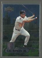 Cal Ripken Jr 1998 Fleer Metal Universe Card #200 Baltimore Orioles Baseball HOF