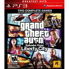 Grand Theft Auto: Episodes from Liberty City Ps3 [Brand New]