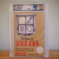 Nintendo NES The Legend of Zelda - VGA 85 NM+ No UKG No Wata Neu TOP Sammler