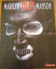 EVANESCENCE  //  MARILYN MANNSON  __  POSTER SIZE 45 cm x 58 cm
