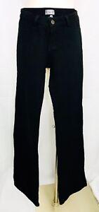 5/48 Jeans Stretch Brazil Brazilian Fit Black Bodycon Pants size 4 Vintage New
