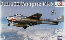 Amodel 1/72 De Havilland DH.100 Vampire Mk6 # 72208