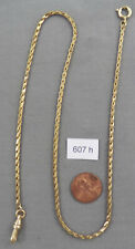Long Gold Filled Pocket Watch Chain No. 2