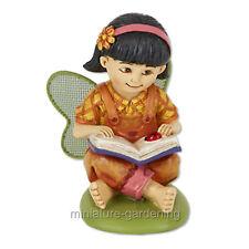 Miniature Garden Mikayla the Reading Fairy
