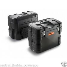 Genuine KTM 950 990 Adventure Side Cases Bags Panniers Left and Right Set