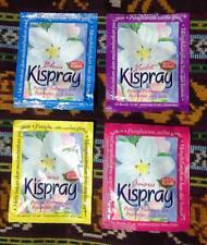 Kispray. Bali Fabric / Air Fresher and Ironing Aid. 4 x 21ml sachets (1 of each)