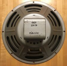 "1957 Jensen P12R Vintage 12""  Speaker Ribbed Cone Not Reissue Or Recone!"