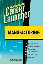 Manufacturing (Career Launcher)-ExLibrary