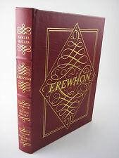 EREWHON Samuel Butler EASTON PRESS Rockwell Kent ALDOUS HUXLEY Fiction CLASSIC