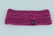UGG Australia Nyla Cable Knit Headband Victoria Pink NWT MSP $45