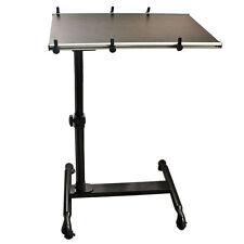 SoBuy® Overbed LaptopTable, Laptop Bed Sofa Side Table,FBT07N-BR,Brown,UK