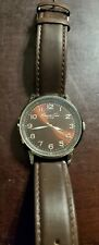 Kenneth Cole New York Stainless Steel Mens Watch Leather