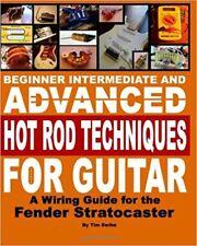 Fender Stratocaster Guitar Body Building DIY Unfinished Wiring Kit Book on CD