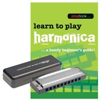 Stagg 10 Hole Blues Harmonica in C with Tutor Book
