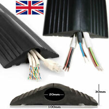 Floor Cable Protector Cover   Wire Lead Trip Bumper   Rubber Heavy Duty Trunking