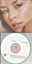 KYLIE MINOGUE Breathe 4TRX EDITS/ MIXES & VIDEO CARD SLEEVE CD single USA Seller