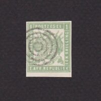 TRANSVAAL SOUTH AFRICA 1870, SG# 14, CV £170, Used