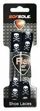 (83791) Sof Sole Skulls Novelty Shoe Laces, 45-Inch, 2 Pair
