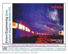 EE 1997/98 E Marklin Total Catalog 1997 1998 Good Cond Picture of AmTrak