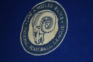 Pendleton 1940s Vtg Wool Blanket NFL Los Angeles Rams Stadium Blanket LA w Bag