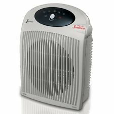 Sunbeam Fan-Forced Electronic Portable Heater Fan with Electronic Thermostat