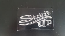 SNOT Strait Up Promo CASSETTE TAPE (Hed)PE Soulfly System of a Down Serj Rare