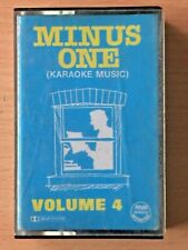 MINUS ONE KARAOKE MUSIC VOLUME 4 PHILIPPINES PAPER LABEL Cassette TAPE