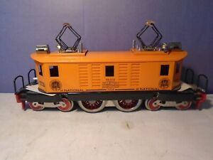 McCoy 1954 Standard Gauge National TCA 4-4-4 Orange Electric Locomotive EX