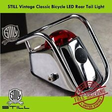 STILL Vintage Classic Bicycle Road City Bike LED Safety Rear Tail Light