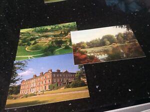 Staffordshire Postcards - 3 Views of Weston Park   New unused