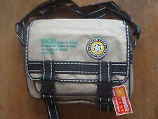 Unifarbene Messenger Taschen aus Synthetik mit einem Träger