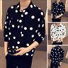 INCERUN Men 3/4 Sleeve Hippy Causal Smart Shirt Loose Baggy Collar T Shirt Tops