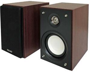 Negro Speaker Set Unit, De 2 v/ías, Mesa//Estante, 125W, 54-40000 Hz, 8 Ohmio TEAC LS-H265 Altavoz Altavoces