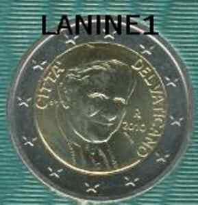 2 EURO DU COFFRET BU VATICAN 2010 (RARE)