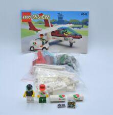 LEGO Set 6341 Flugzeug Octan Tankwagen mit BA Gas N' Go Flyer w. instruction