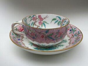 Antique Minton Breakfast Tea Cup & Saucer-Pattern 2643