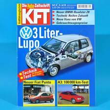 KfT Kraftfahrzeugtechnik 16/1999 Audi W12 BMW Z 8 VW Lupo Opel Corsa Hockenheim