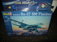 1:72 Revell Sukhoi Su-27 SM Flanker MODEL-SET Nr. 04937 OVP