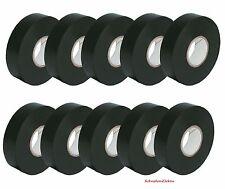 10x schwarz Isolierband 10 m / 18 mm breit Isoband Klebeband Elektriker Band