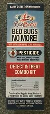 Bugband Bed Bugs No More! Natural Pesticide Spray Detector Pad Combo Kit