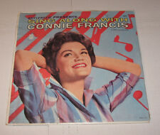 Connie Francis LP Sing Along With SEALED Brylcreem Presents  MATI MOR