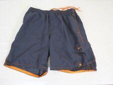 Nike Men Swim Trunks Size Large Gray Orange