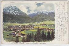 AK Fulpmes, Stubaital, Künstler-AK 1900