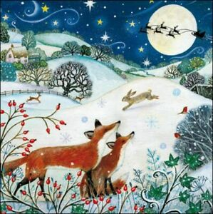 Charity Christmas Cards Pack Of 5 Christmas Eve
