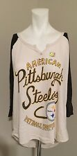 PITTSBURGH STEELERS-AMERICAN FOOTBALL CONFERENCE T SHIRT--SMALL--JUNK FOD