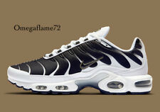 Nike Air Max Plus Tn se, UK 6 nos EU 40, 7, CT1094-102, Blanco, Negro, Estaño