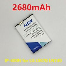 2680mAh IP-400N Battery LG Optimus LS670 MS690 P500 GT 540 LW690 GX200,GX300